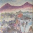 「桧原湖から見る磐梯ってステキだね」画:深見東州